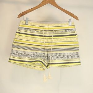 Ann Taylor LOFT Women's 2 Riviera Short Striped
